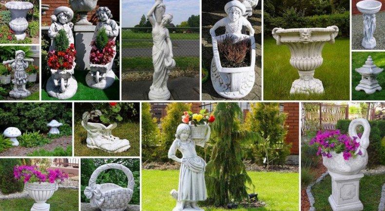 Садовые фигурки в ландшафтном дизайне