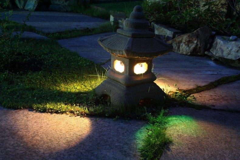 Декоративное освещение для сада