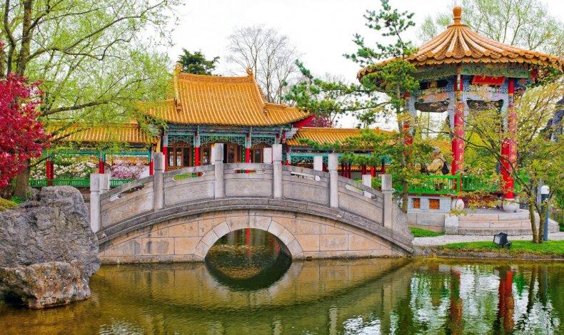 МАФы в китайском саду