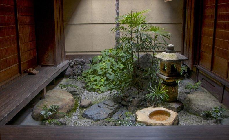 Японский сад цубо