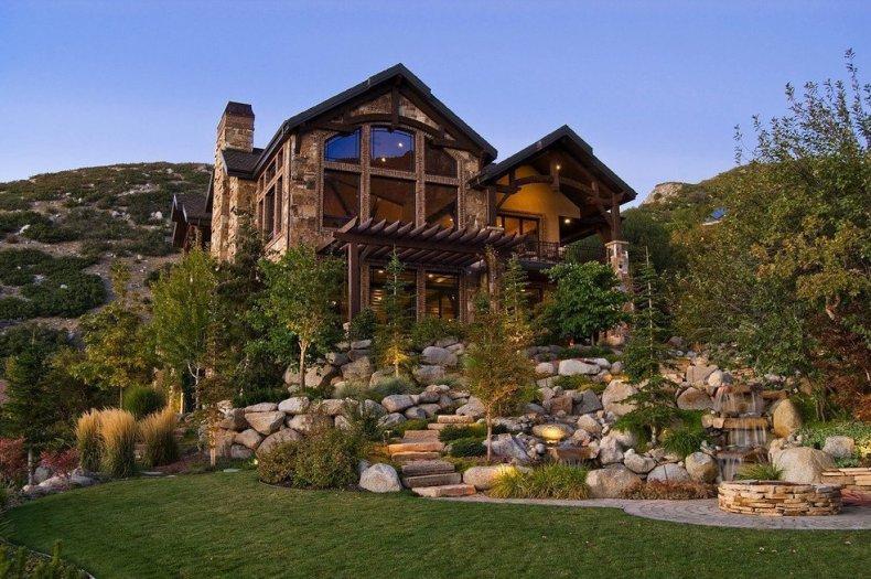 Ландшафтный дизайн в альпийском стиле
