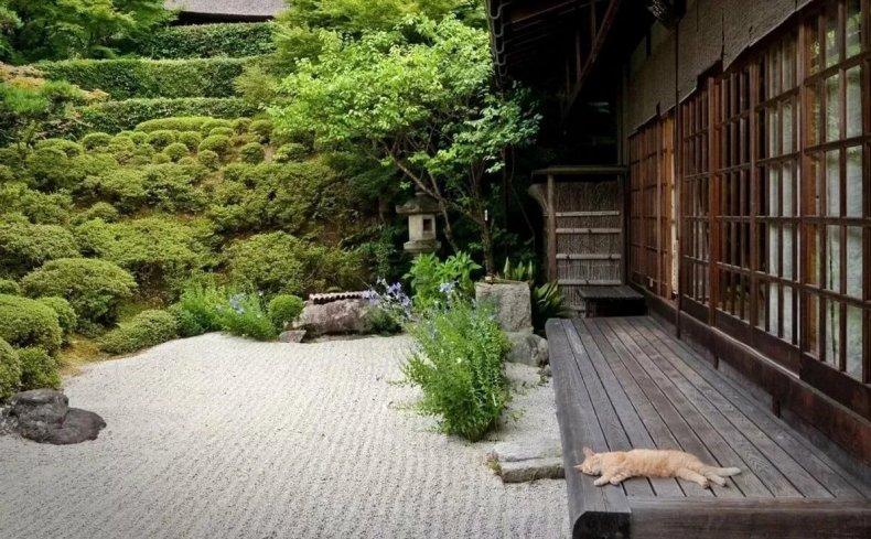 Японский минимализм в ландшафте