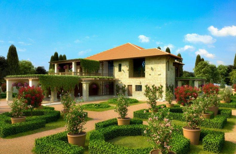 Дом в итальянском стиле