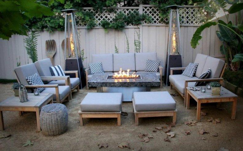 Садовая мебель для зоны отдыха