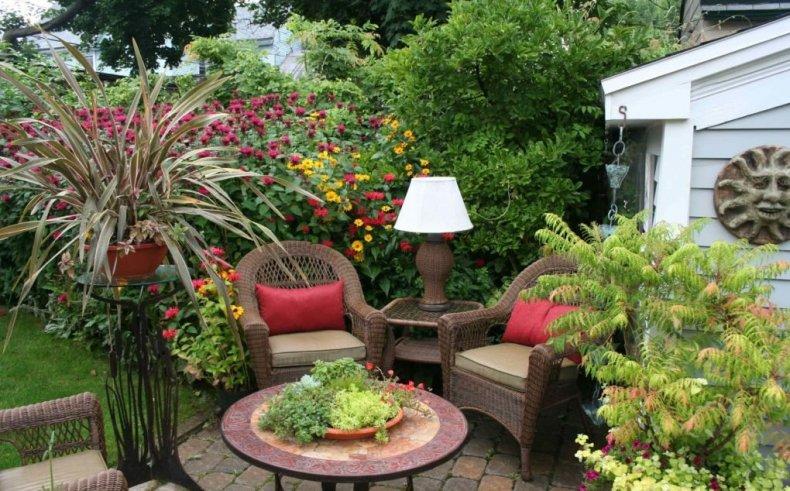 Растения для зоны отдыха