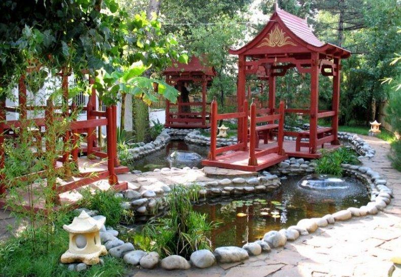 Декоративные элементы в китайском стиле