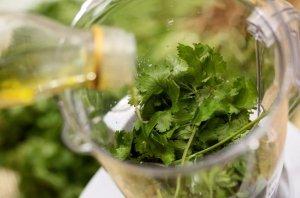 Заморозка в растительном масле