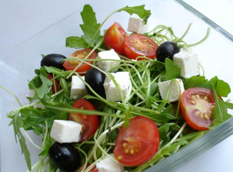 Салат с руккколой