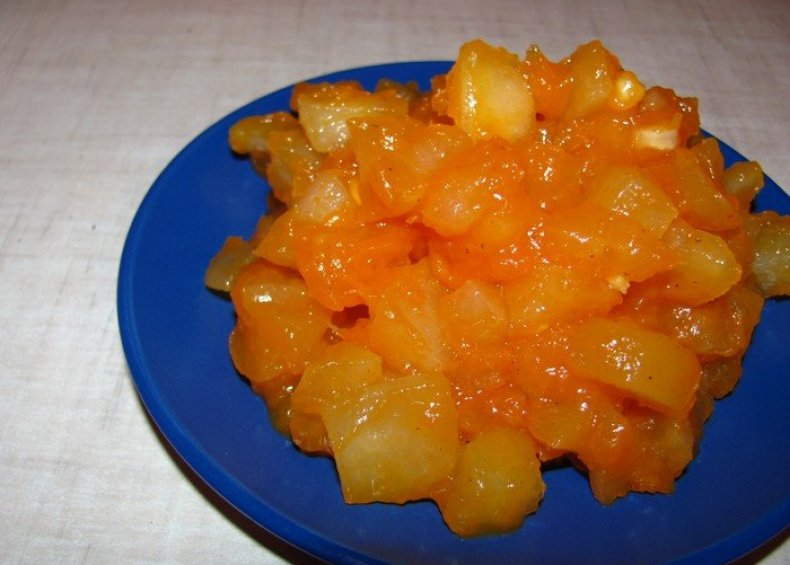 Варенье из яблок и тыквы