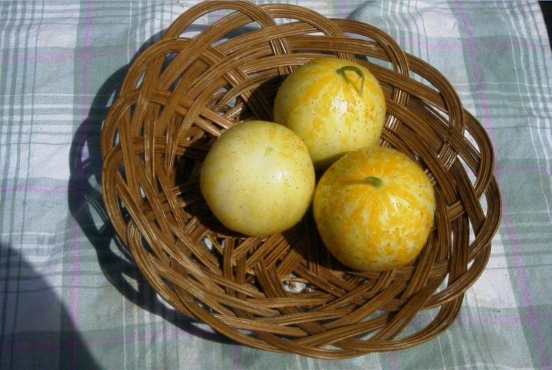 Огурец-лимон