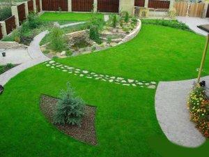 Травяной газон