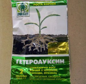Замачивание семян гетероауксин