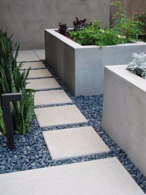 Грядки из бетона