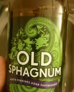 Пиво на основе сфагнума