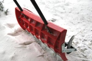 механический, лопата, шнек, снег, описание