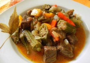 Блюдо из бамии