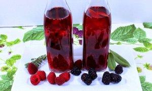 малиновый, вино, малина, домашний, малинового вина, вино малины