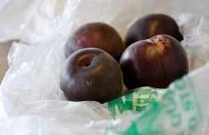 Плоды черного абрикоса