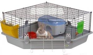 Домик-клетка для декоративных кроликов