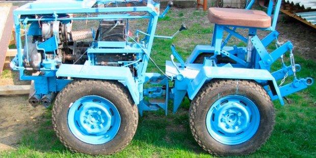 Трактора своими руками с ломающейся рамой 133