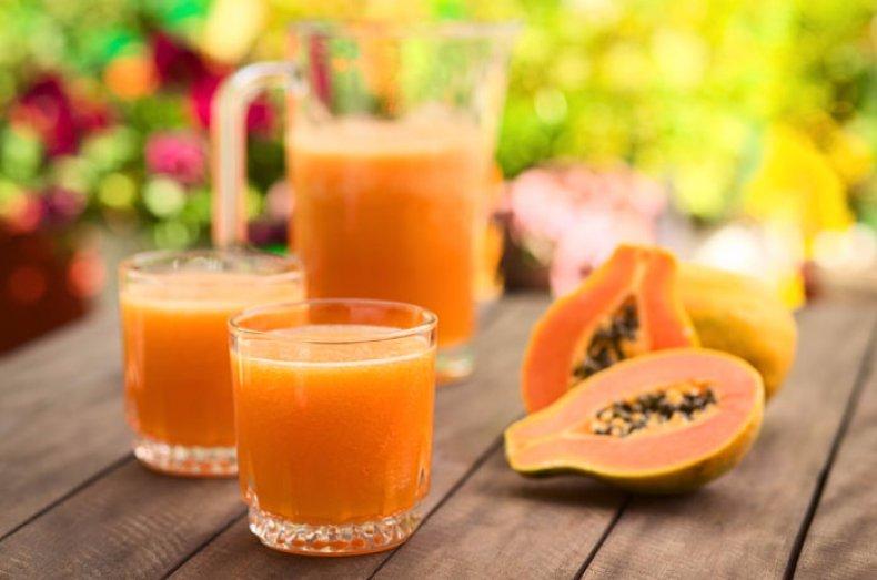 Сок папайи