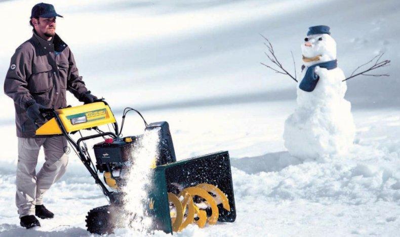 техник, снег, снегоуборщик, уборки снега, снегоуборочной машины