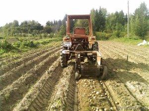 Использование трактора Т-25