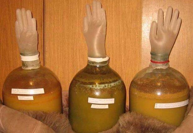 Как сделать вино из яблочного сока в домашних