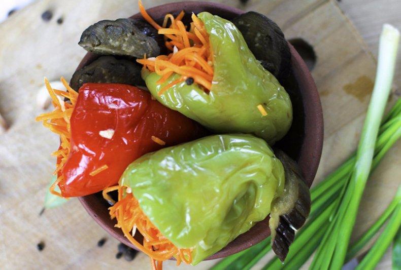 Перец с овощами