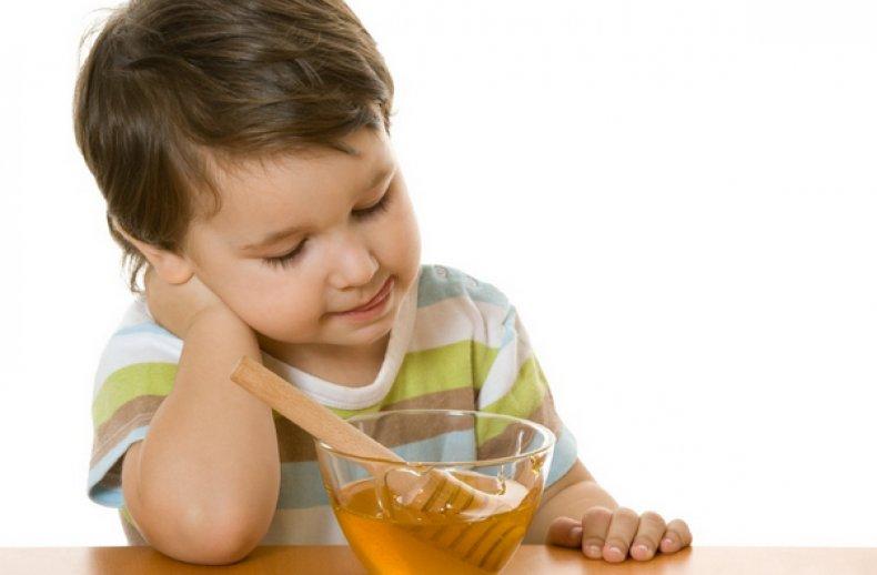 Мед для детей
