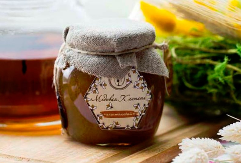 Мёд каштановый