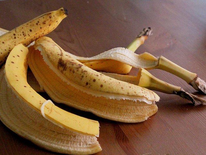 Шкурки бананов