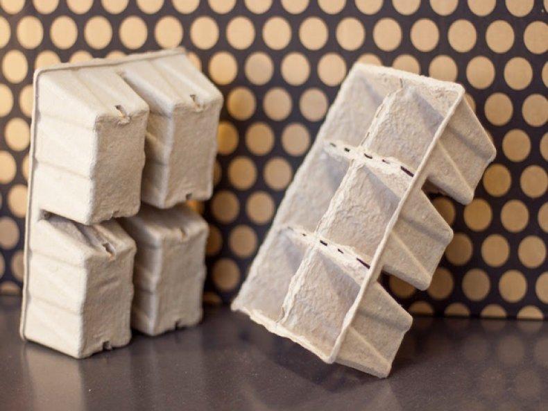 Бумажные кассеты для рассады