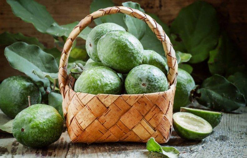 фейхоа, противопоказание, экзотический, фрукт, большую пользу, йода организме