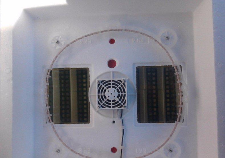Вентилятор и распределитель воздуха
