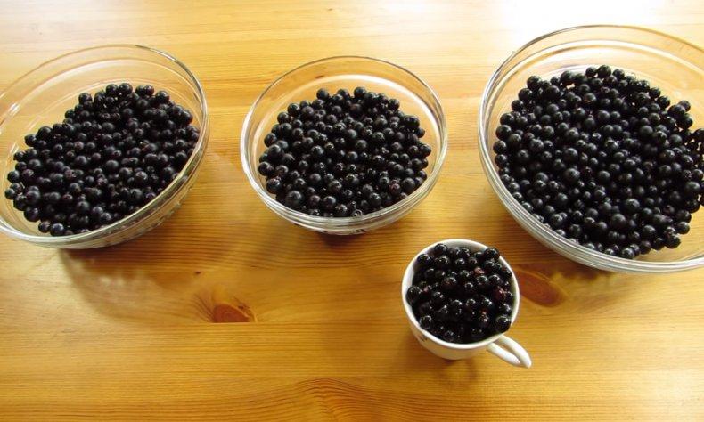 Подготовка ягод