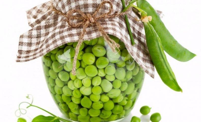 заготовки зеленого горошка