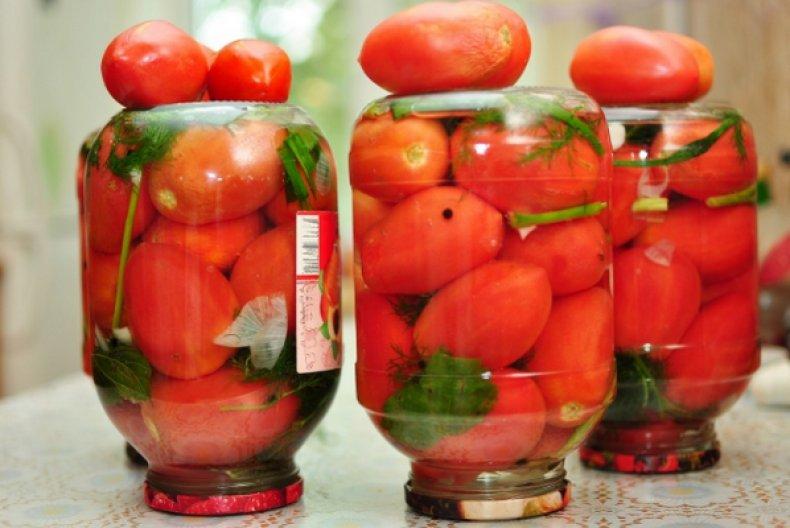 как вкусно засолить помидоры на зиму