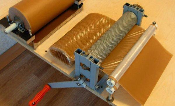 удаление геля пчеловодство вальцы для производства вощины КАЗНАЧЕЕВ