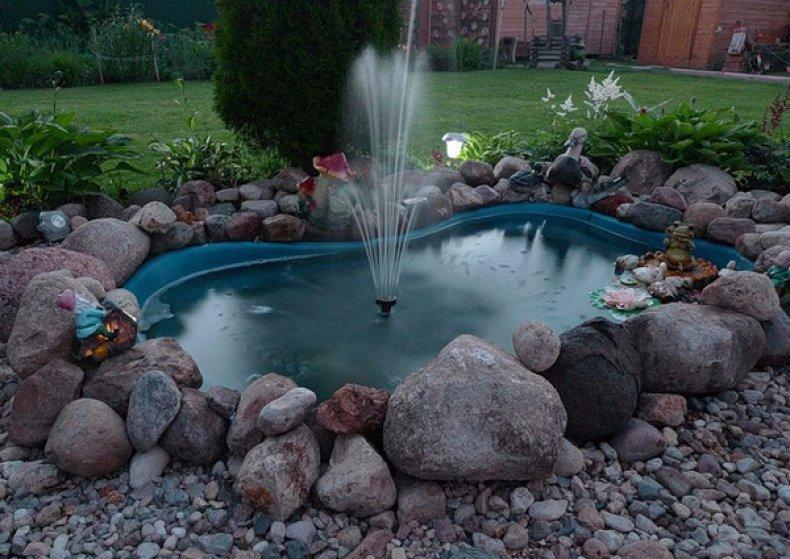 Проточный фонтан