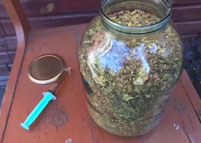 сушка табака в микроволновке