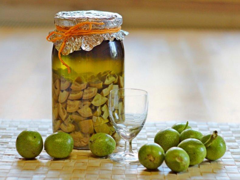 скорлупа, грецкий, орех, рецепт