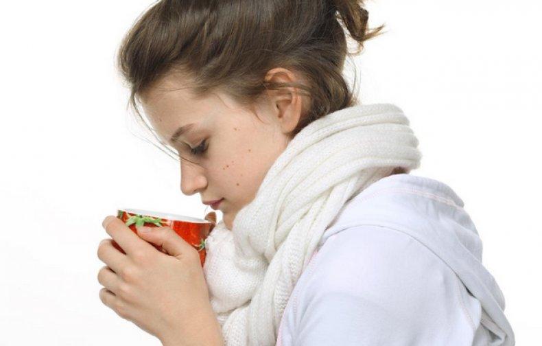Прием ламинарии при простуде