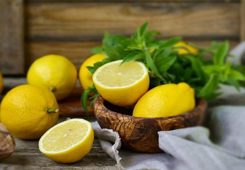 лимон в морозилке