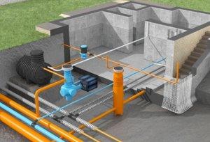 Подключение к водопроводу и сточной системе