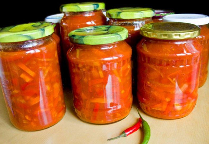 фасоль, томатный, соус, зима, домашний, пошаговый