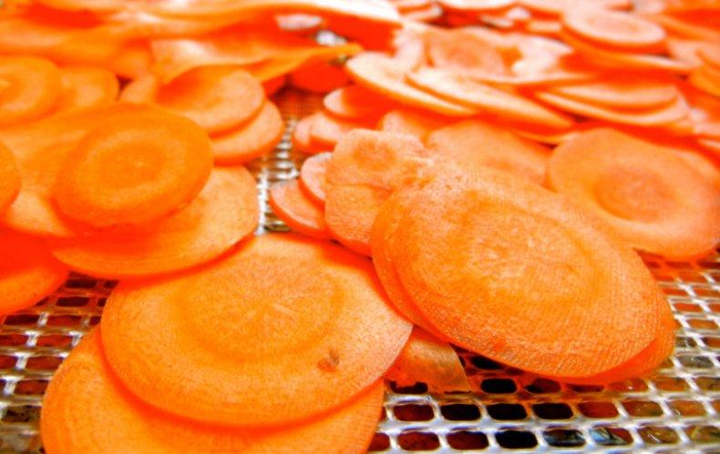 сушка, морковь, зима, домашний