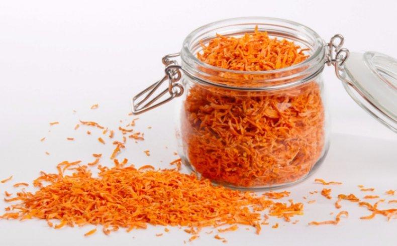 Сушеная морковь