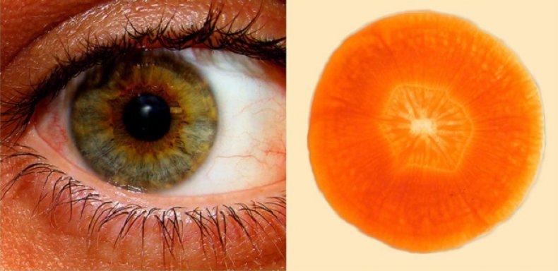 Морковь полезна для зрения