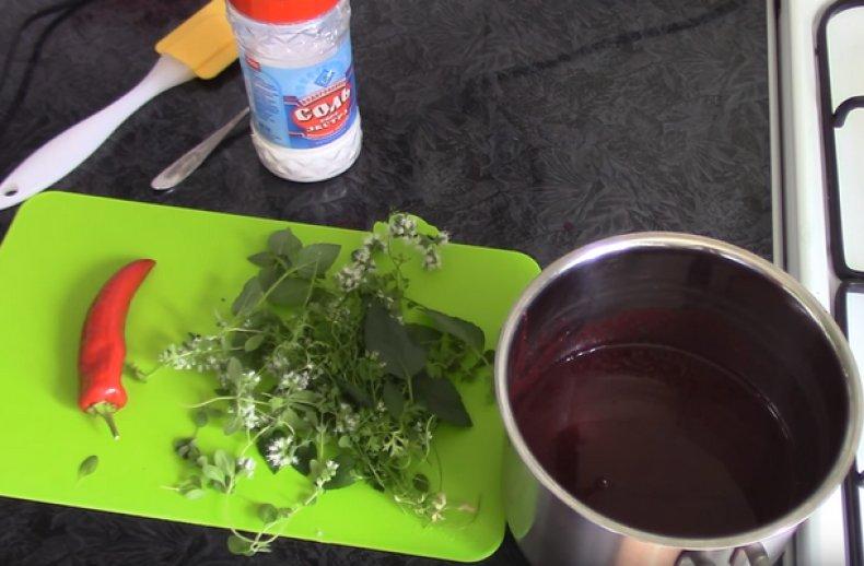 соус, крыжовник, мясо, рецепт, заготовка